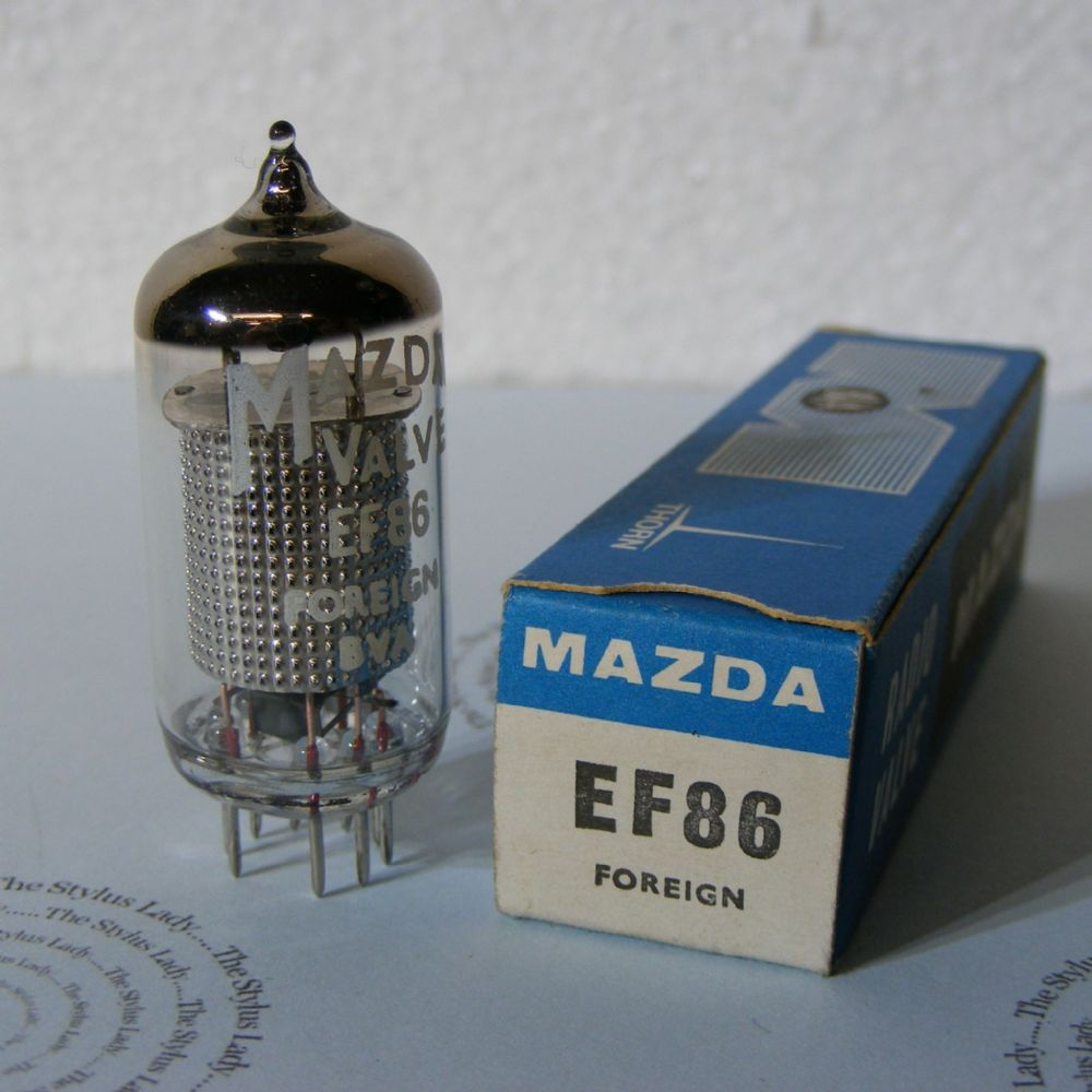 EF86, Mazda valve, new and boxed,tested